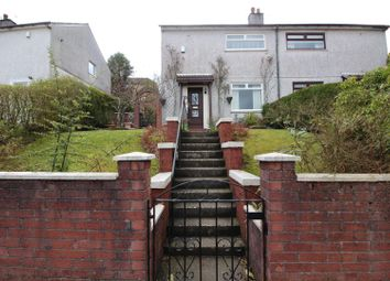 Thumbnail 2 bed semi-detached house for sale in Maple Road, Greenock