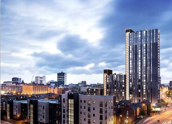 Thumbnail 2 bed flat for sale in Oxygen Tower, Manchester