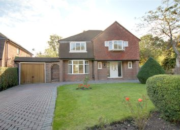 Thumbnail 4 bed detached house for sale in Abbey Gardens, Chertsey, Surrey