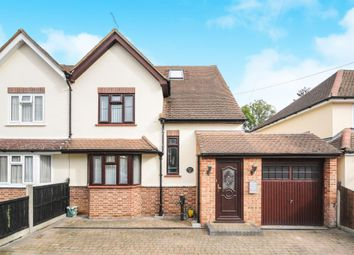 Thumbnail 4 bedroom semi-detached house for sale in Mayfield Road, Writtle, Chelmsford