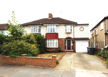 Thumbnail 3 bed semi-detached house to rent in Highdown, Old Malden, Worcester Park