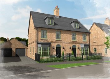 Thumbnail 3 bed semi-detached house for sale in Plot 4, 40 Central Avenue, Brampton Park, Brampton, Huntingdon