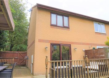 Thumbnail 2 bedroom semi-detached house for sale in Kidd Close, Crownhill