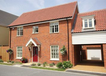 Thumbnail 4 bedroom link-detached house for sale in Foundry Close, Glemsford, Sudbury