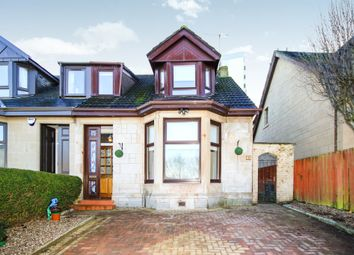 Thumbnail 3 bedroom semi-detached house for sale in Monkcastle Drive, Cambuslang, Glasgow