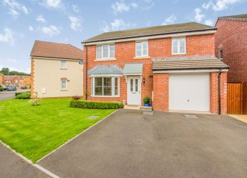 Thumbnail 4 bed detached house for sale in Spitfire Road, Newport