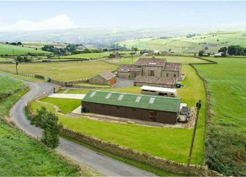Thumbnail 5 bed detached house for sale in Burnt Platts Lane, Slaithwaite, Huddersfield