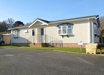 Thumbnail 2 bedroom mobile/park home for sale in Gladelands Park, Ringwood Road, Ferndown