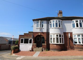 Thumbnail 4 bed semi-detached house for sale in West View, Ashington
