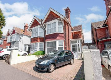 Thumbnail 4 bed semi-detached house for sale in Cavendish Avenue, Eastbourne