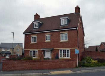 Thumbnail 5 bed detached house to rent in Woodvale Kingsway, Quedgeley, Gloucester