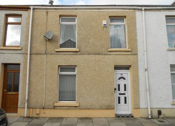 Thumbnail 3 bed terraced house for sale in Dunraven Street, Port Talbot, Neath Port Talbot.