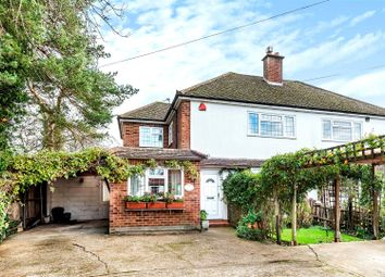 The Street, West Horsley, Leatherhead KT24. 3 bed semi-detached house for sale