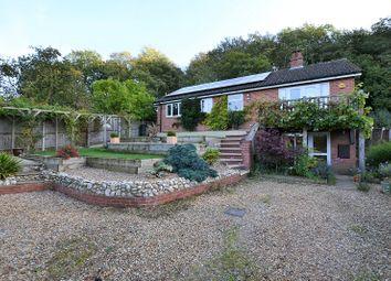 Thumbnail 4 bedroom detached house for sale in Rectory Road, Elsing, Dereham, Norfolk.