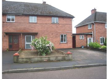 Thumbnail 3 bed semi-detached house for sale in Oak Crescent, Monmouth