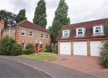 Thumbnail 4 bedroom detached house for sale in Dickens Way, Romford