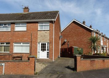 Thumbnail 3 bedroom semi-detached house for sale in Dunleady Park, Dundonald, Belfast