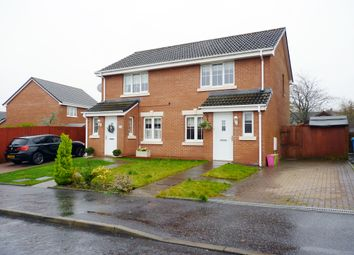Thumbnail 2 bed semi-detached house for sale in Basil Grove, Westwood, East Kilbride
