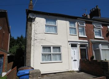 Thumbnail 2 bed semi-detached house for sale in Dillwyn Street West, Ipswich