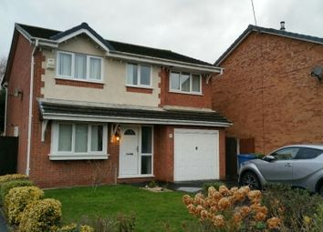 Thumbnail 4 bed detached house to rent in Wensleydale Close, Great Sankey, Warrington