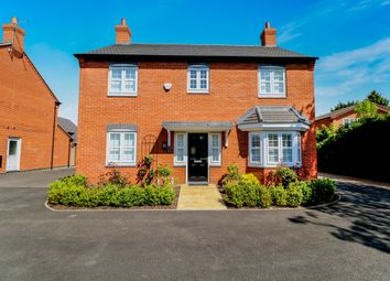 Thumbnail 4 bed detached house for sale in Howard Drive, Kegworth, Derby