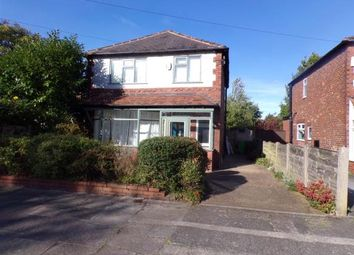 Thumbnail 3 bedroom detached house for sale in Dalmorton Road, Chorlton, Greater Manchester