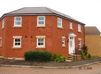 Thumbnail 3 bed semi-detached house to rent in Kingswood Road, Crewkerne