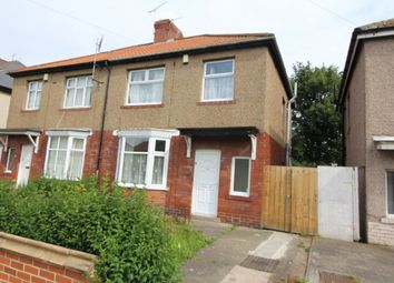 Thumbnail 3 bed semi-detached house to rent in Hoyle Avenue, Fenham, Newcastle Upon Tyne