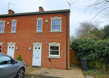 Thumbnail 2 bed end terrace house for sale in London Road, Oadby, Leicester