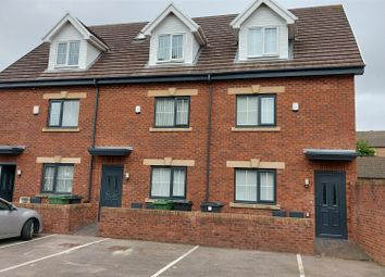 Thumbnail 4 bed town house for sale in Bessemer Road. Leckwith, Cardiff