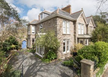 Thumbnail 6 bed town house for sale in Pendarves Road, Penzance