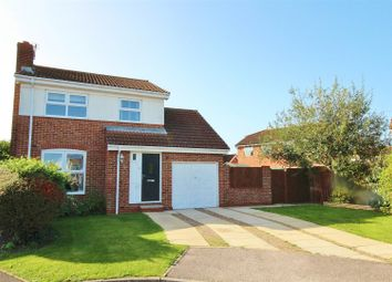 Thumbnail 3 bed detached house for sale in Ash Close, North Duffield, Selby