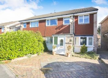 Thumbnail 4 bed semi-detached house for sale in Modbury Close, Hazel Grove, Stockport, Cheshire