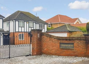 Thumbnail 4 bedroom detached house to rent in Staines Road, Wraysbury