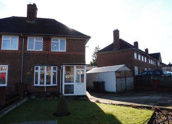 Thumbnail 2 bed semi-detached house for sale in Heynesfield Road, Birmingham