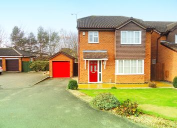Thumbnail 3 bed detached house to rent in Roman Way, Leicester