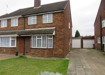 Thumbnail 3 bed semi-detached house for sale in Brooklands Close, Luton