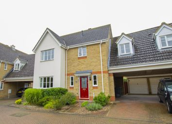 Thumbnail 4 bed link-detached house for sale in Copel Close, Highfields Caldecote