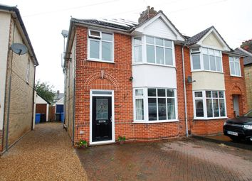 Thumbnail 4 bedroom semi-detached house for sale in Whitby Road, Ipswich