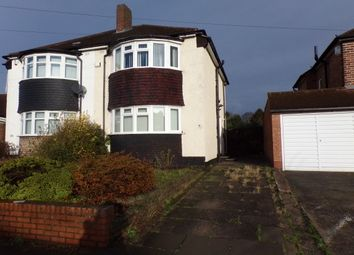 Thumbnail 2 bedroom property to rent in Bucklands End Lane, Hodge Hill, Birmingham