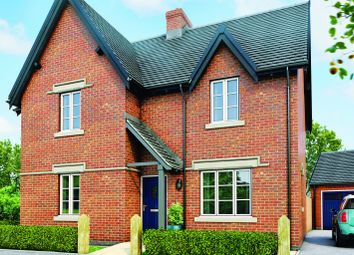 Thumbnail 4 bed detached house for sale in The Aran, Moira, Leicestershire