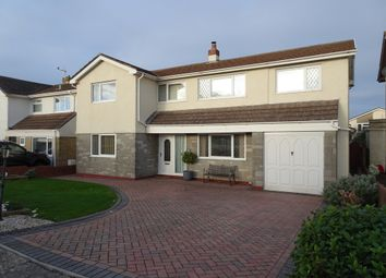 Thumbnail 4 bed detached house for sale in Curlew Road, Rest Bay, Porthcawl