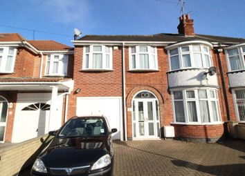 Thumbnail 5 bed semi-detached house for sale in Broadway Road, Leicester