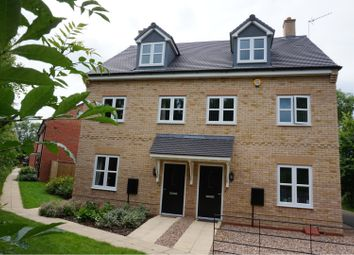 Thumbnail 3 bed semi-detached house for sale in Kestrel Row, Southam