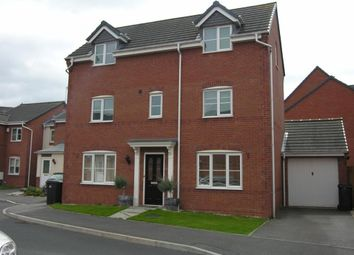 Thumbnail 4 bed detached house to rent in Trusley Brook, Hilton, Derby