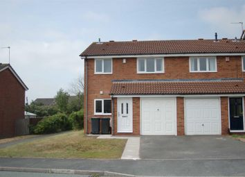 Thumbnail 3 bed semi-detached house to rent in Heathfield Drive, Waterhayes, Newcastle