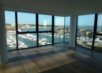 Thumbnail 2 bed flat to rent in Ocean Way, The Moresby Tower, Southampton