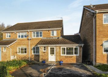 Thumbnail 3 bed semi-detached house for sale in Llys Iris, Waunceirch