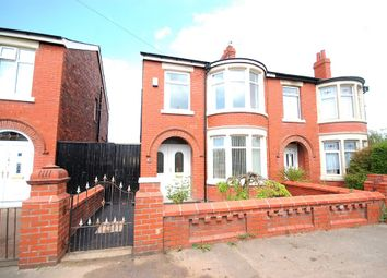 Thumbnail 3 bed semi-detached house for sale in Orkney Road, Blackpool