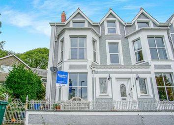 Thumbnail 6 bed end terrace house for sale in Y Maes, Criccieth, Gwynedd, .